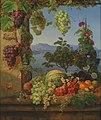 Christine Løvmand - Frugter i et italiensk landskab - KMS453 - Statens Museum for Kunst.jpg