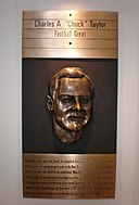 Chuck Taylor plaque, SJ Sports Hall of Fame.JPG