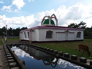 Lohagara Upazila, Chittagong - Shrine at Chunati village