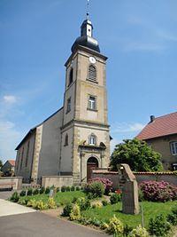 Church St Barthelemy in Léning (Lorraine, France).jpg