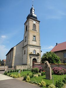 Church St Barthelemy in Léning (Lorraine, France).jpg