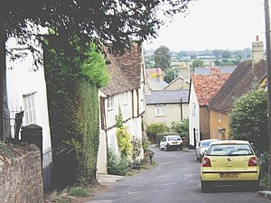 Shillington, Bedfordshire - Image: Church Street, Shillington geograph.org.uk 539544