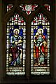 Church of St Mary Magdalen Laver Essex England - 1895 Charles Garrett Jones stained glass window.jpg