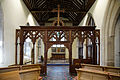 Church of the Holy Cross Felsted Essex England - chancel rood screen.jpg
