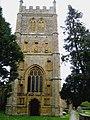 Church tower Bradford Abbas - geograph.org.uk - 1276326.jpg