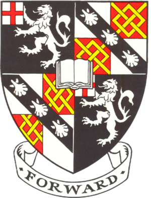 Churchill College, Cambridge - Churchill College heraldic shield