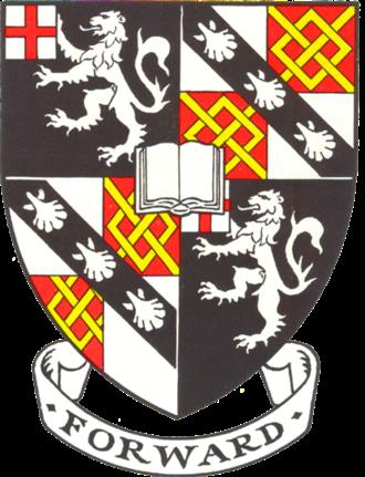 Churchill College, Cambridge - Churchill College heraldic shield