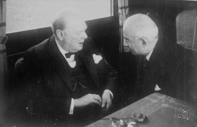 Churchill and İnönü