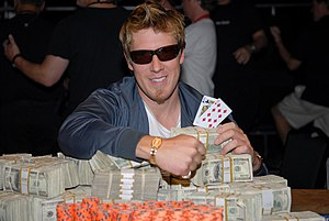 2007 World Series of Poker results - Ciarán O'Leary after winning the $1,500 No-Limit Texas Hold'em event at the 2007 World Series of Poker