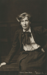 Cicely Hamilton by Lena Connell 1910s.png