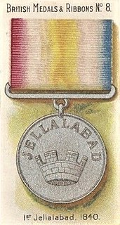 Jellalabad Medals