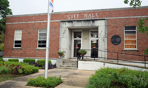 City Hall in Fort Valley, GA, US