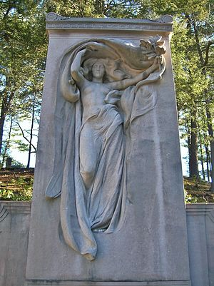Sleepy Hollow Cemetery (Concord, Massachusetts) - Melvin Memorial (1908) (Daniel Chester French, sculptor; Henry Bacon, architect)