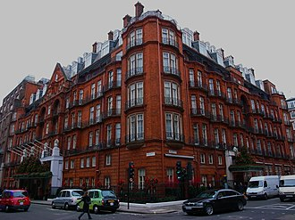 Yugoslav government-in-exile - Claridge's Hotel in London, where the Yugoslav government-in-exile was based during the war.