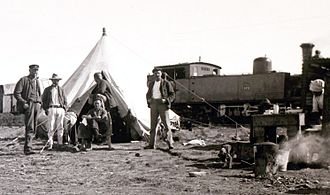 1893 in South Africa - NZASM 46 Tonner, c. 1895