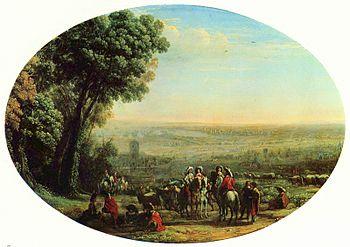 Claude Lorrain: The Siege of La Rochelle