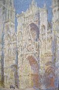 Claude Monet - Rouen Cathedral, West Facade, Sunlight.jpg