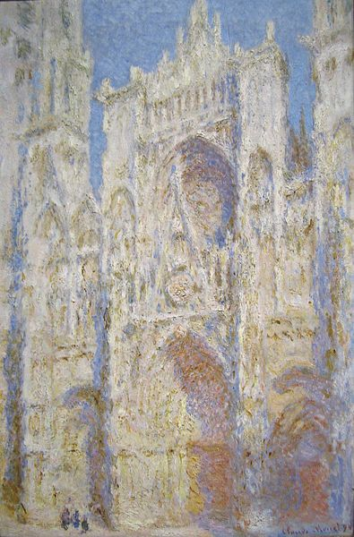 file claude monet rouen cathedral west facade wikimedia commons. Black Bedroom Furniture Sets. Home Design Ideas