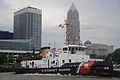 Coast Guard Cutter Morro Bay at its new mooring in Cleveland 130616-G-VH840-256.jpg