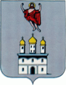 Coat of Arms Bilche-Zolote Ternopil Oblast.png