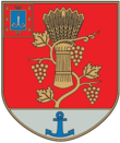 Coat of Arms of Bilhorod-Dnistrovskiy Raion in Odesa Oblast.png