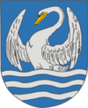 Coat of Arms of Miory, Belarus.png