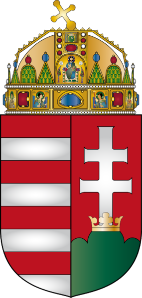 Fișier:Coat of arms of Hungary.png