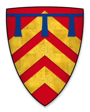 Richard de Montfichet - Arms of Richard de Montfichet, at the time of the signing of Magna Charta