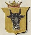 Coat of arms of Stanislovas Leščinskis, painted in 1875.jpg