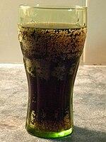 Un bicchiere di cola