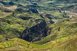 Colca Canyon valley