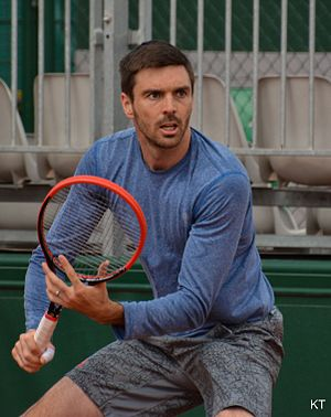 Colin Fleming - Fleming at 2015 French Open