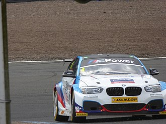 West Surrey Racing - Image: Colin Turkington 2017 BTCC Knockhill (Sunday, R2)