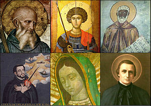 Patron saints of places - Patron saints by regions