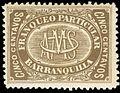 Colombia Barranquilla 1882 5c brown.jpg