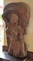 Colossal Yakshi Standing under Ashoka Tree - Kushan Period - Vrindaban - ACCN 40-2888 - Government Museum - Mathura 2013-02-23 5069.JPG