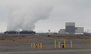 Columbia Generating Station nuclear power plant in Benton County, Washington