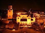 Columbus-ohio-greek-orthodox-church-night