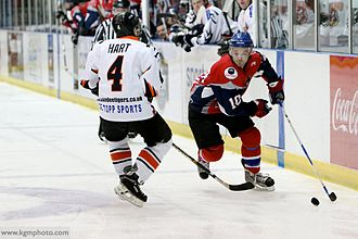 Dundee Comets - Comets v Tigers at Dundee ice Arena