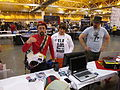 ComicConWizardWorld 2014 Hall Laptop.JPG