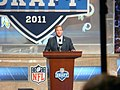 Commissioner Goodell at the podium (5668482576).jpg