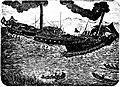 Concordia rammt St-Gotthard Obermeilen Zürichsee 19. August 1872.jpg