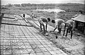Concrete Roofing In Progress - Science City Site Office - Dhapa - Calcutta 1993-October 700.JPG