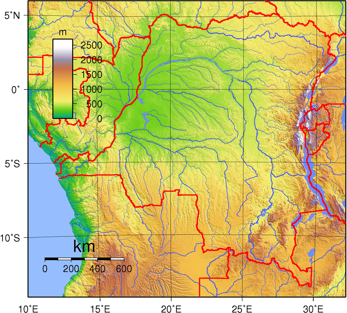 Geology of the Democratic Republic of the Congo - Wikipedia