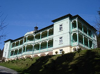 Komańcza - The Monastery of the Sisters of the Holy Family of Nazareth in Komańcza
