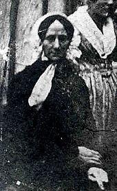 Angeblich Constanze Mozart 1840 (Quelle: Wikimedia)