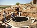 Construction de digesteurs pour une ferme, école et mosquée à Dayet Ifrah, Maroc (13244467615).jpg