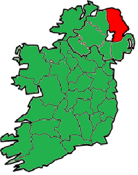 County Antrim in Nordirland