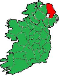 County Antrim in Nordirland