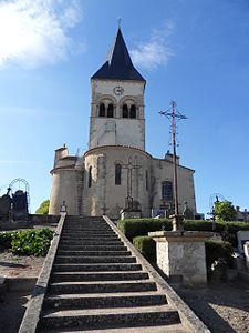 Contigny Eglise St Martial abside et clocher.jpg